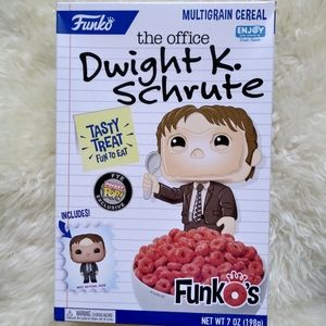 Funko's Cereal The Office Dwight Schrute Toy